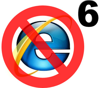 No Support For IE6