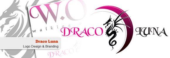 Draco Luna Logo | Epiksol Creative